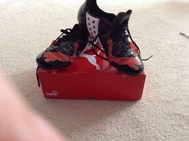 Junior puma football boots size 5.5 - new in box