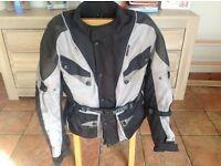 Used motorcycle jacket size small. Suzuki Yamaha Kawasaki Honda