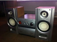 Sony MHC-WZ8D Mini Hi-Fi Component System and Loudspeakers