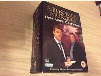 Midsomer murders Ben Jones' casebook. 30 Disk Set