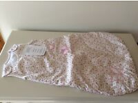 Laura Ashley 0-6 months sleeping bag (2.5 tog). Condition new with tags attached