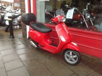 VESPA S 125 COMES FULLY SERVICED 2 NEW TYRES NEW DRIVE BELT & ROLLERS DELIVERY CAN BE ARRANGED