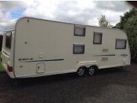 Avondale Argente 640-6 6 Berth Twin Axel Touring Caravan 2005