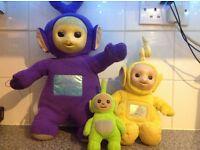 3 Original teletubbies 1996