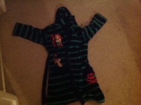 Childs captain jake dressing gown