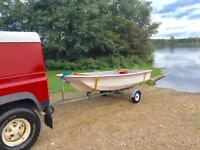 REDUCED 11 ft Dell Quay Dory Fishing Boat