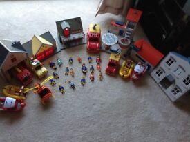 Good collection of Fireman Sam toys