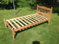 SINGLE BED FRAME 6'4 x 3'2 PROJECT/REPAIR