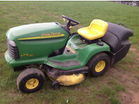 John Deere Ride on lawnmower LTR 180