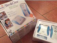 Slim light digital baby monitor