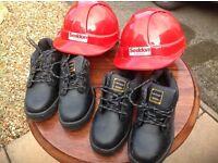 DUNLOP STEEL TOECAP BOOTS & HARD HATS