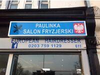 """Salon Fryzjerski """"Paulinka"""" Dobry Polski Fryzjer + Paznokcie + Rzesy Manor Park Stratford Ilford"""
