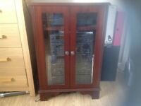 Mahogany hi fi cabinet,excellent condition.