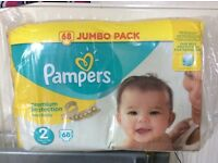 Pampers size 2 double pack £6