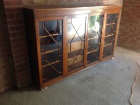 Regency style bookcase/display unit