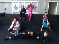 Children's Jiu Jitsu classes for 7-14 year olds