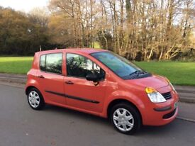 RENAULT MODUS 1.2 EXPRESSION. 2006. FULL SERVICE HISTORY. LOW GROUP INSURANCE.