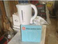 New, boxed, Argos 1.7 litre plastic kettle