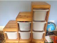 Children's toy storage unit - IKEA trofast storage combination