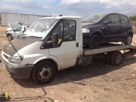 Ford transit recovery with free car !!!!!!