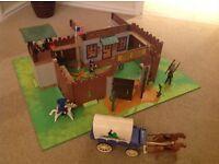 Playmobil Cowboy Fort