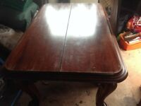 Antique Victorian/Edwardian dining table
