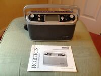 Roberts FM Radio with many functions