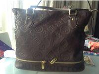 Large LV tote bag dark brown