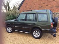 Land Rover Discovery in excellent condition
