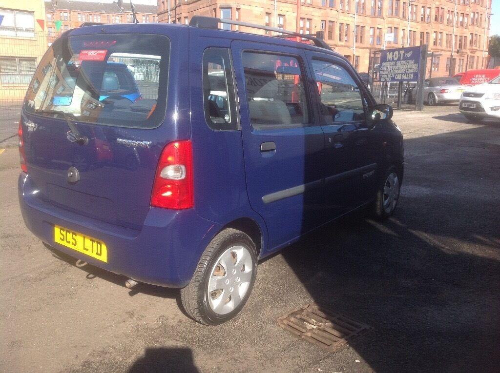 Suzuki wagon Gl 1.2 2007 only 41000 miles MOT ONE YEAR 5 door blue