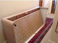 Free single bed with guest bed below