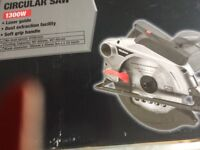 Circular saw for sale. Wickes, 1300W laser guide. Bought by mistake,