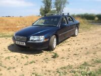 Volvo S80 2.4 petrol very low mileage in excellent condition with new MOT and full service history