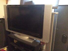 TV DVD player and corner unit