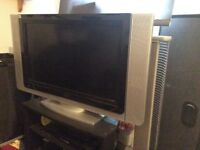 TV DVD player and corner unit