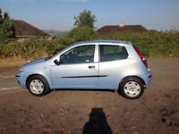 Fiat punto new mot today low mileage only 1.2cc bargain at only £650