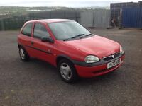 Vauxhall corsa 1700 diesel, (non turbo) MOT'd cheap to run.