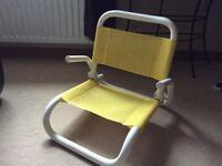 Folding garden/beach chair