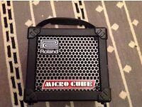 Guitar Amp: Roland Micro Cube CSOM