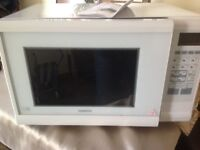 Kenwood White combination microwave oven