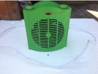 Green house heater fan