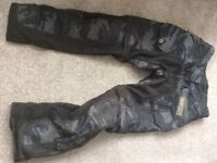 Triumph Motorcycle Kevlar trousers