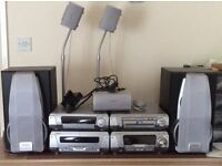 Technics - SC - DV290 - sterio system -region 2 or all DVD player, loads 5 discs