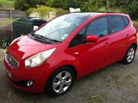 "Kia Venga 1.4 CRDi ""3"" for Sale. Low Miles and Full Kia Service History and Warranty- Diesel"