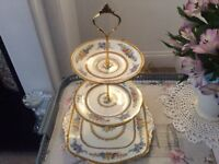 Paragon Bone China 3 Tier Cake Stand.