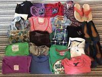 Ladies large 'labels' clothing bundle, 21 items, fit approx size 10 £20