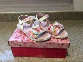 Lelli Kelly Maisie jnr sandals size uk 11/29