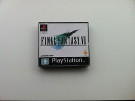 Final Fantasy 7 and 8 for PS1 (PAL)