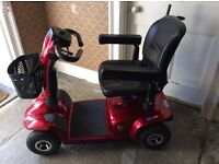 Invacare Leo Mobility Scooter, 2015. Taunton area. Good as new. All features & manuals available
