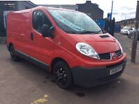 2008 RENAULT TRAFIC 2,0 LOW MILES 2x KEYS EXCELLENT CONDITION FULL YEARS MOT 4x NEW INJECTORS!!!!